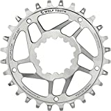 Wolf Tooth Components SST Direct Mount Drop-Stop 26T Chainring: For SRAM Mountain GXP Cranks with Removable Spiders St