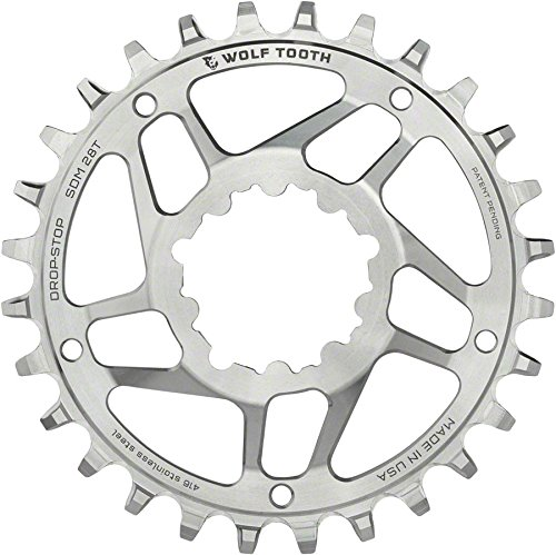 Wolf Tooth Components SST Direct Mount Drop-Stop 26T Chainring: For SRAM Mountain GXP Cranks with Removable Spiders St by Wolf Tooth Components