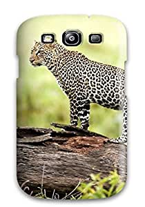 Premium Galaxy S3 Case - Protective Skin - High Quality For Leopard Wildlife