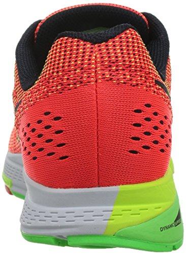 Blk Uomo 19 Crimson vltg Blanco Nike Brght Lima Air vlt Negro Multicolore da Corsa Structure Scarpe Grn Zoom Naranja R6Z06W