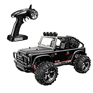 SZJJX High Speed RC Cars, 45KM/H+ Racing Remote Control Monster Trucks 1/22 Scale 4WD 2.4Ghz Radio Controlled Off-Road Vehicle Rock Crawler Fast Electric Desert Buggy SJ1511 Black