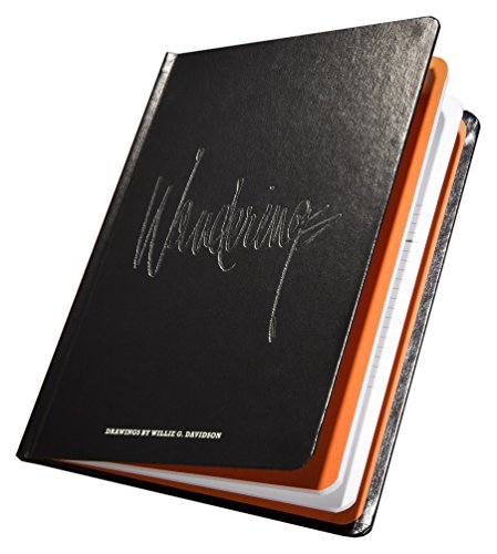 Harley-Davidson Willie G Davidson Collection of Doodles Hardcover Book HDBK-WGD