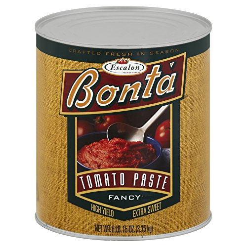 Check expert advices for tomato paste large can?