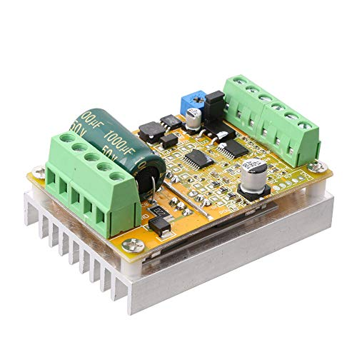 LYWS DC 6V-50V 380W Brushless Motor Controller Normal-Reverse PWM Control BLDC Driver Board w/Heat Sink