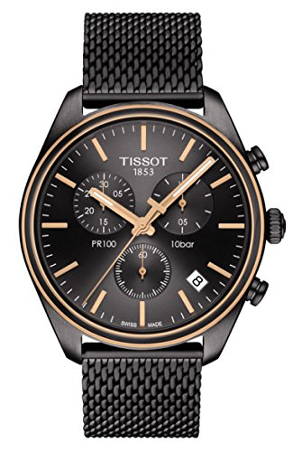 Tissot  Men's PR 100 Chronograph - T1014172306100 Silver/Grey One Size by Tissot