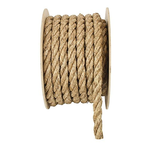 Foot Manila Rope - Everbilt 3/4 in. x 150 ft. Natural Twisted Manila Rope