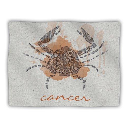 Kess InHouse Belinda Gillies Cancer Pet Blanket, 40 by 30-Inch