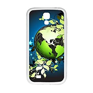 The Earth And Flowers Hight Quality Plastic Case for Samsung Galaxy S4