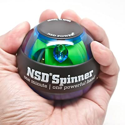 NSD Power Essential Spinner Gyroscopic Wrist and Forearm Exerciser from Yahigh LLC