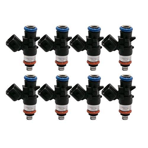 8x 80LB Fuel Injector For LS3 LS7 L76 L92 L98 L99 LS9 Corvette C6 Z06 Camaro G8
