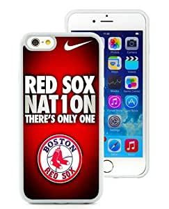 Hot Sale iPhone 6/iPhone 6S 4.7 Inch TPU Case ,Boston Red Sox White iPhone 6/iPhone 6S Cover Unique And High Quality Designed Phone Case
