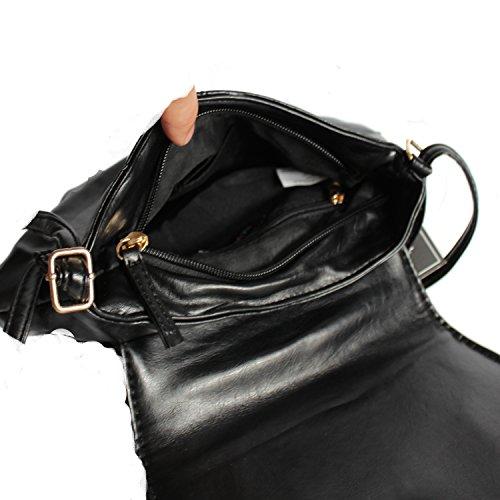NEW-REBELS, Borsa a tracolla donna nero