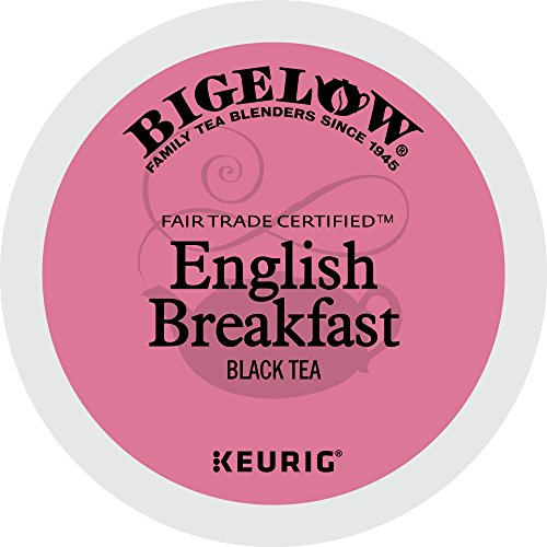 Bigelow Keurig Single-Serve K-Cup Pods, English Breakfast Black Tea, 72 Count (6 boxes of 12 (Bigelow Black Tea)