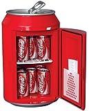 Koolatron CC10G Coca-Cola Can-Shaped 8-Can-Capacity Fridge, Red