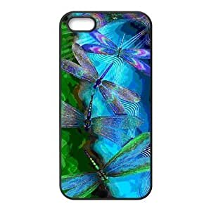 Dragonfly Vintage Design Solid Hard Customized Cover Case for iPhone 5 5s 5s-linda17 BY icecream design