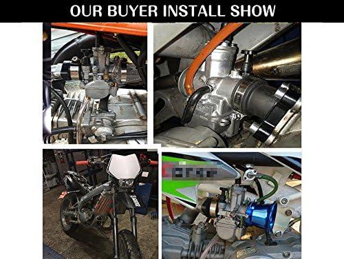 Ocamo Carburador de la Motocicleta Gasolina Generador,Carburador para SUV ATV UTV Modificado,PWK21 24 26 28 30 32 34mm