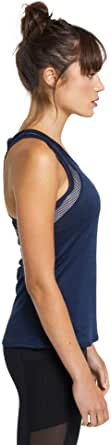 Rockwear Activewear Women's Fitted Mesh Singlet Deep Sea 8 from Size 4-18 for Singlets Tops