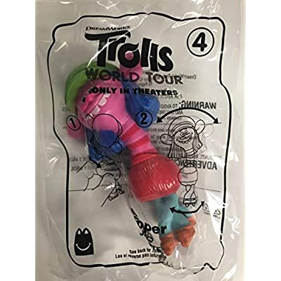 McDonald's 2020 Trolls World Tour Happy Meal Toy #4 Cooper: Toys & Games