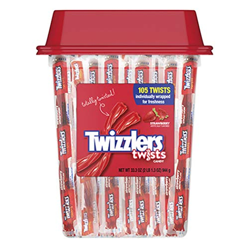 Red Candy Twizzlers Strawberry Twists (33.3 oz. Canister)