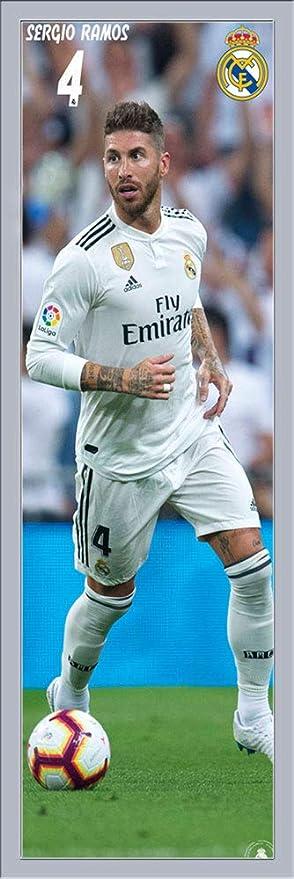 Real Madrid Sergio Ramos 18 19 Fussball Plakat Tur Poster