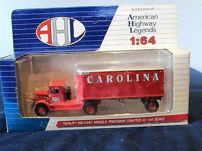 Hartoy 51105 Mack BM Carolina Freight Carriers Semi Truck 1/64 AHL Dieast Model