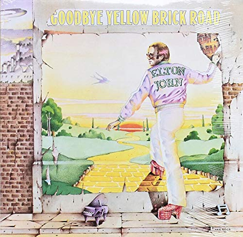 Goodbye Album - Elton John Vinyl Album Goodbye Yellow Brick Road 1973 New Sealed First Printing