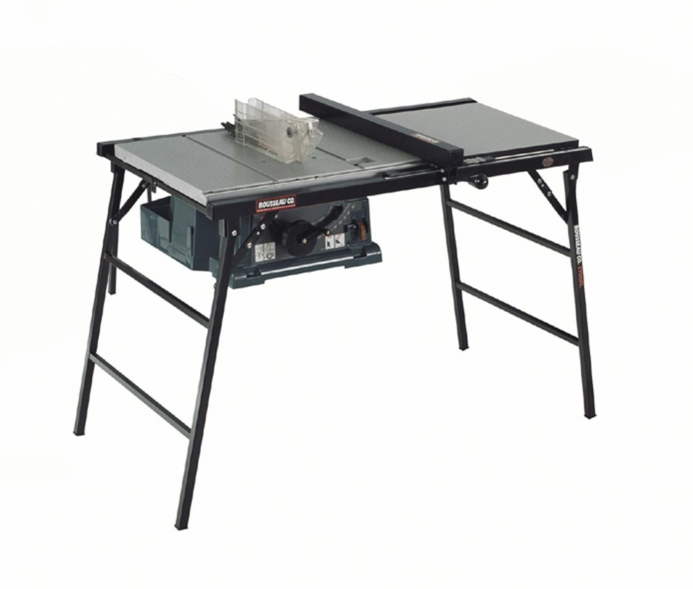 Rousseau 2700xl Saw Stand For Makita 2703 Hitachi C10ra Dewalt Dw744 Table Saws