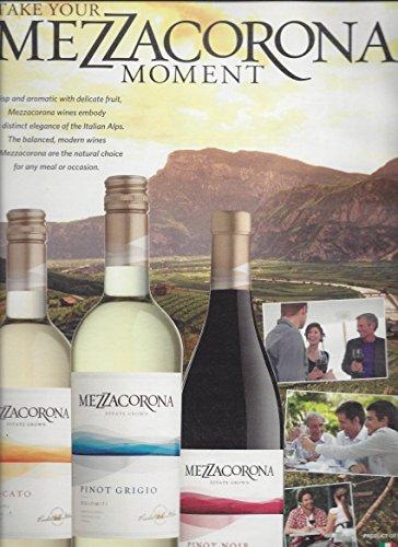 MAGAZINE ADVERTISEMENT For 2014 Mezzacorona Wines: Trio Scene (Trio Wine)