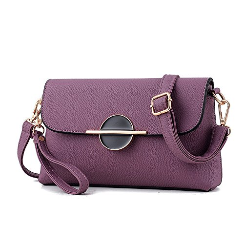 Leather Womens Purse Convertible Crossbody Bag Size Purple Hobo Shoulder Small Single Clutch TOqnO7wRZ