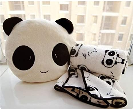 Amazon.com: Lovely Cute Panda Cojín (Pan coche sofá cojín ...