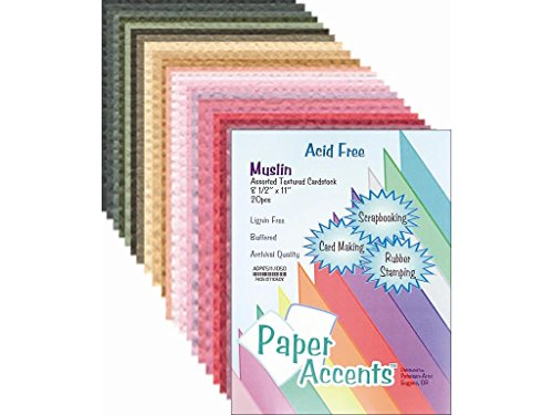 Assorted Color Cardstock (Accent Design Paper Accents ADP8511.1050 AD Paper Variety Pack Assorted Cardstock)
