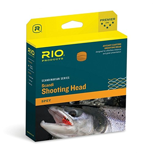 Rio Fly Fishing Products Scandi Spey Shooting Head Fly Line