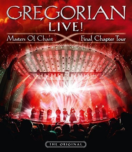 Live  Masters Of Chant  Limited Edition  Blu Ray