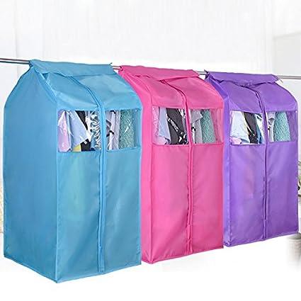 Large Capacity Oxford Hanging Cloth Storage Bag Garment Suit Coat Wardrobe Dust Protector Buckdirect Worldwide Ltd.