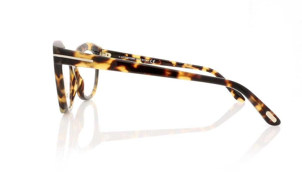 d9ba75996719 Amazon.com: Tom Ford FT5456 Eyeglasses 52-19-140 Havana w/Demo Clear Lens  056 TF5456 FT 5456 TF 5456: Clothing