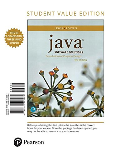 java software solutions lewis - 9