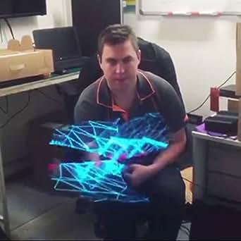 SYlive 50CM Hologram Led Fan, Holographic Imaging 3D Naked Eye LED Multifunctional Fan - Advertising for Shop, Bar, Casino, Restaurant