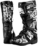 MSR SCOPE MX MOTOCROSS OFFROAD DIRT BOOTS BLACK/WHITE 12