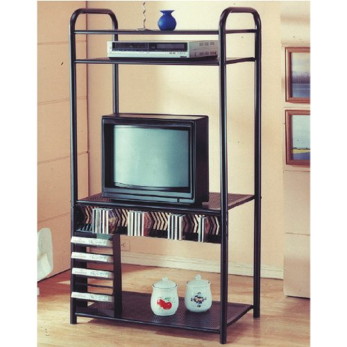 4 Tier Metal TV Shelf By H.P.P ()