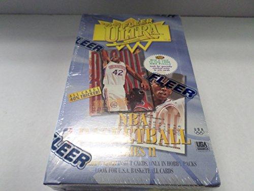 (95-96 Fleer Ultra NBA Basketball Series 2 Factory Sealed Hobby Box (1))