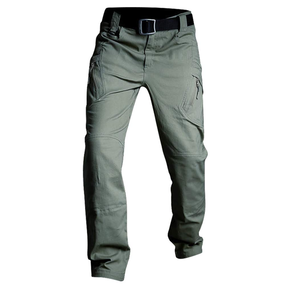 RockJay Men's Outdoor Cargo Pants Quick Dry Pants for Travel Hiking Climbing
