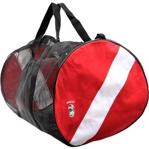Armor Dive Flag Mesh Duffel Mesh Bag, 29