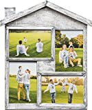 photo collage frames large - NICELY HOME Photo Frame Collage - Large Multiple Picture Frame Displays Four 4x6 Inch - Gift for Family Love & Best Friends