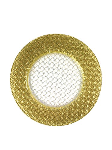 chargeit-by-jay-gold-glitter-braid-basket-weave-glass-charger-gold