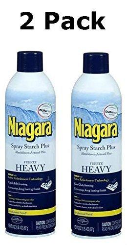 Niagara Heavy Spray Starch Plus Durafresh, Professional Finish, 20 Oz (2 Pack) by Niagara by Niagara