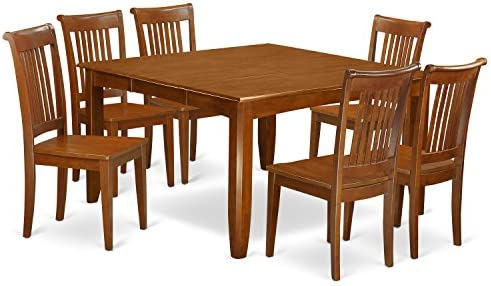 PFPO7-SBR-W 7 Pc Dining'set-Table