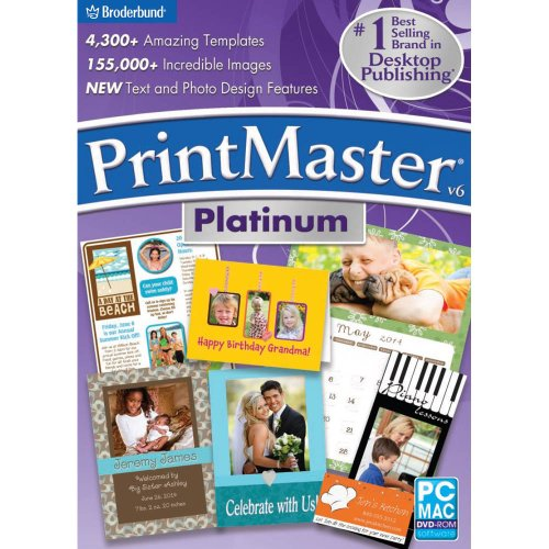 PrintMaster v6 Platinum - Greeting Card Downloads