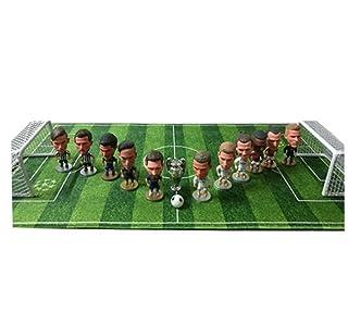 EP-model Sports Stadium Modello 3D, Simulazione Artificiale Mini Campo da Calcio Modello Fan Souvenir Puzzle Fai da Te, Set da Gioco