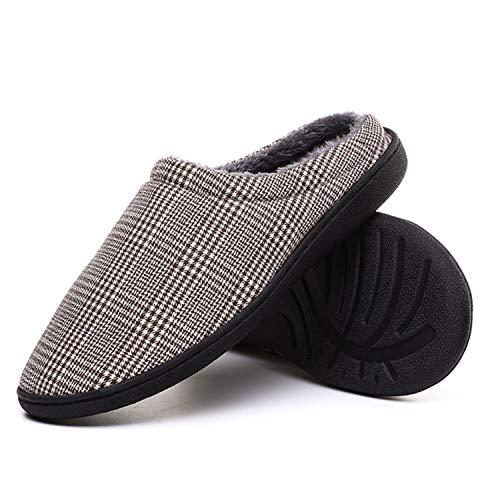 Noël L'hiver Semelle Chaussons Solides Doublées Marron Maison Laiwodun Femmes Chaudes Chaussures Pantoufles De Cadeau wSxqd74U
