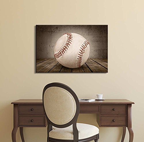 Baseball Rustic Sport Panel Wall Decor